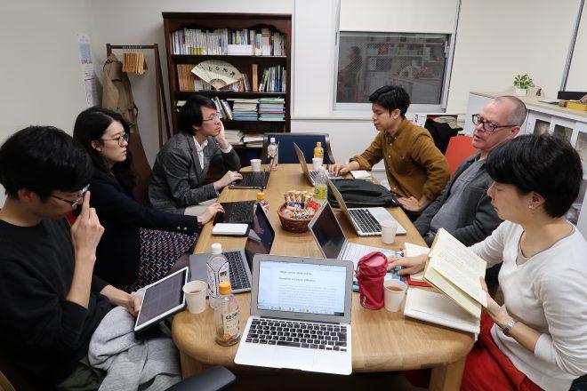 2019年度秋学期のEAA読書会(「文学と共同体の思想」)の第三回