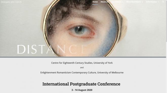 感染症に覆われた世界と18世紀研究の今 Distance 2020 Conference Report