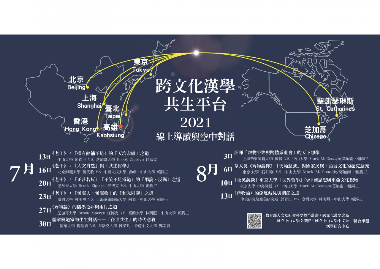 連続シンポジウム「跨文化漢學的共生平台」第1回