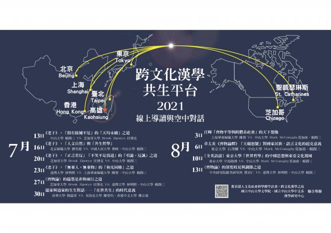 跨文化漢學的共生平台:線上導讀與空中對話(一)