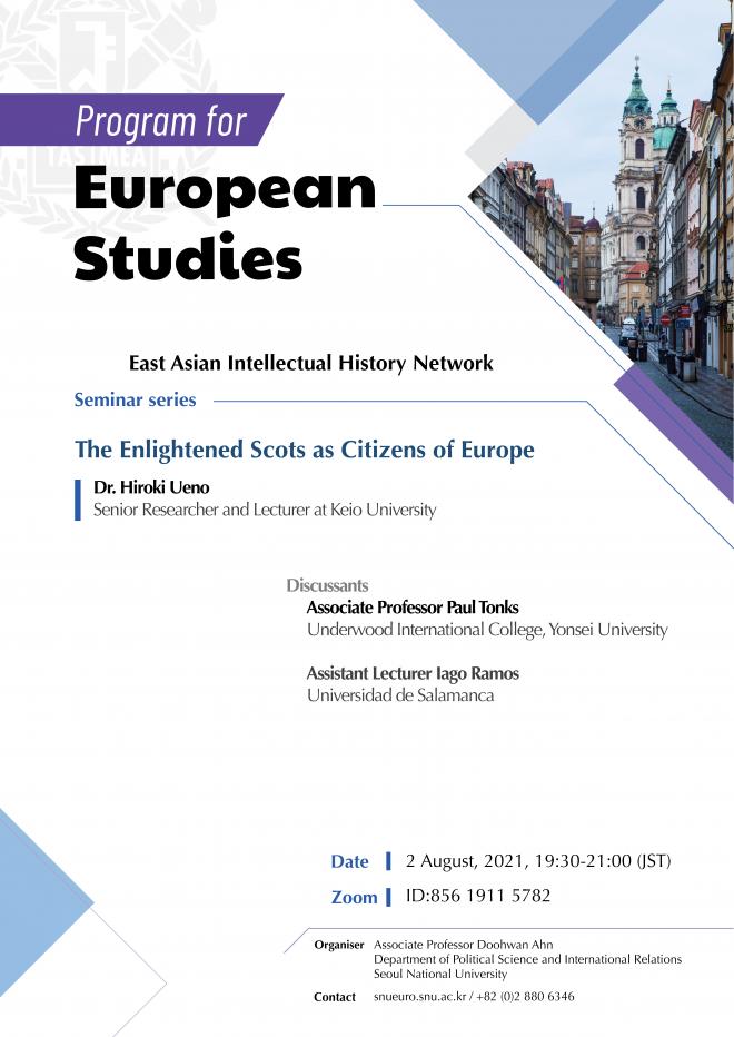 Report: 6th EAIHN Online Seminar